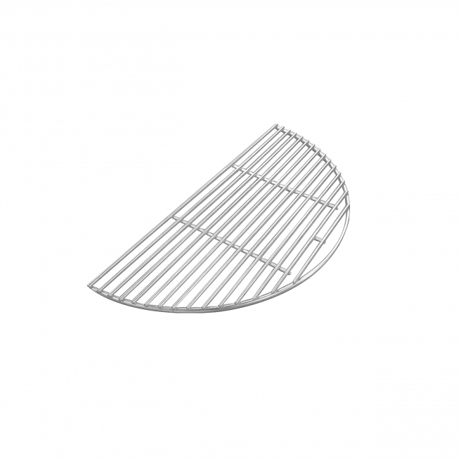 Halber Edelstahl-Grillrost
