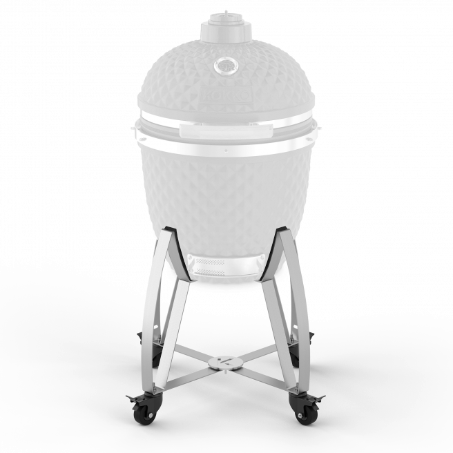 Stainless steel trolley for Kokko