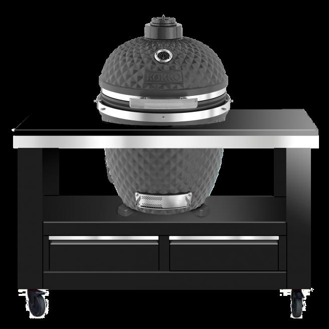XL Metall-Grillwagen für den Kokko