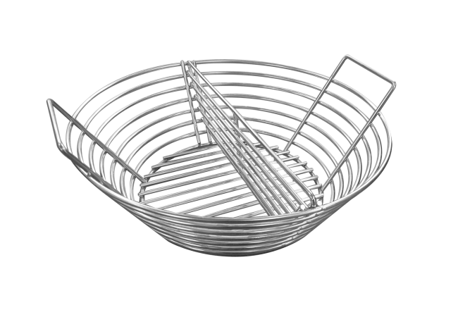Stainless steel basket for charcoal