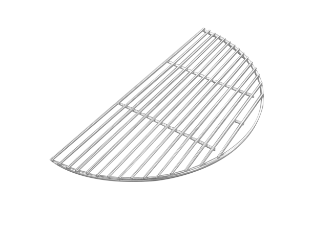 Half stainless steel cooking grid